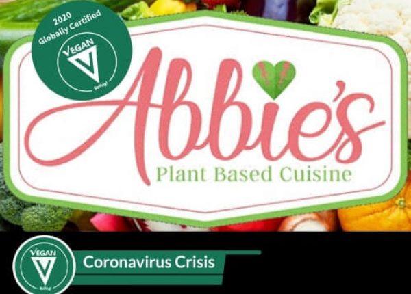 Abbie's Plant Based Cuisine gets BeVeg Vegan Certification