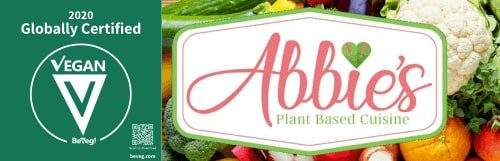 Abbie's Plant Based Cuisine gets vegan certified by BeVeg International