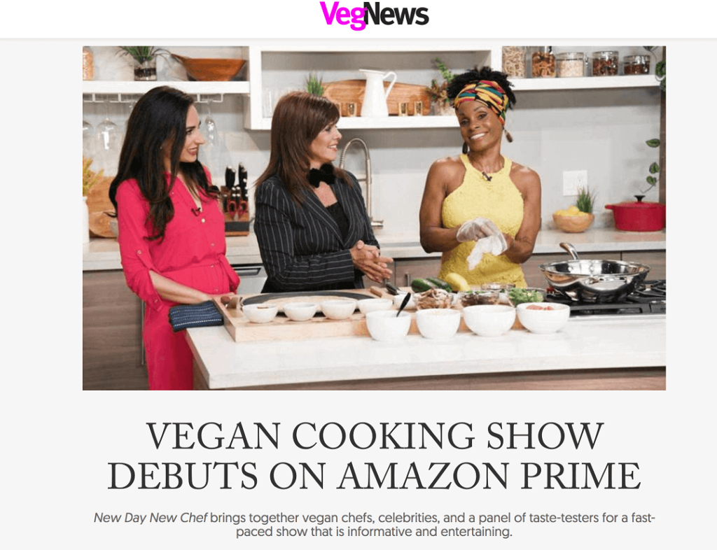 Carissa Kranz & Jane Unchained co-host New Day New Chef Season 1
