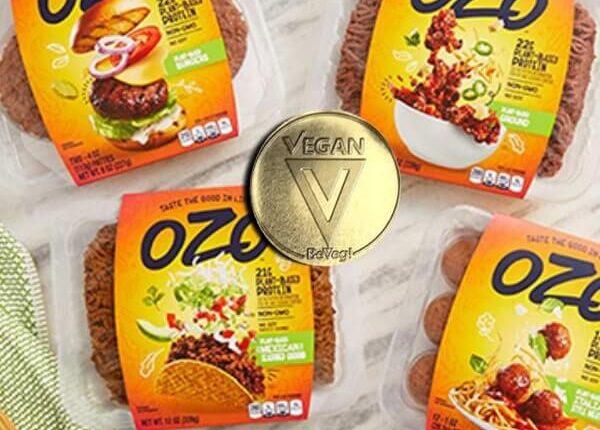 Plant-based meat brant OZO by JBS is BeVeg vegan certified