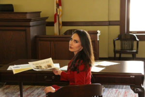 Carissa in court with agriculture