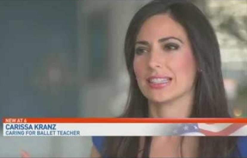 CBS News -- Ballet Dancer-Turned-Attorney, Carissa Kranz, Invites Alzheimer's Ballet Mentor Home