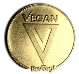 BevVeg Vegan Certification Gold Standard Logo