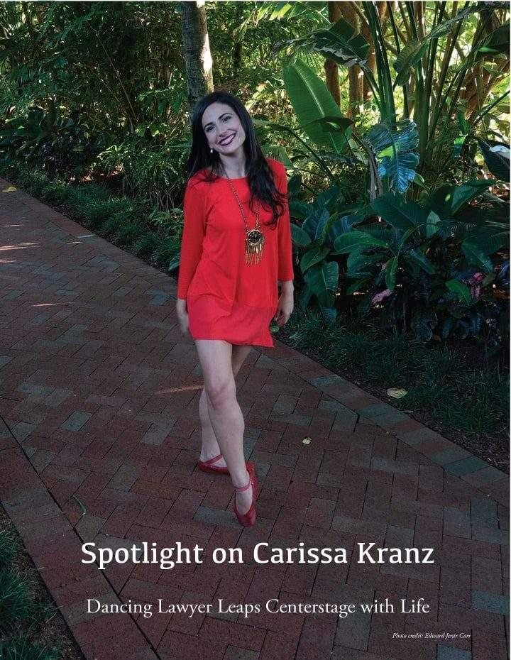 Danz'n magazine Spotlight on Carissa Kranz