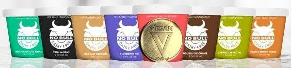 No Bull BeVeg Certified Vegan - Dairy Free Ice Cream