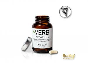Verb Vitamins is Certified Vegan by BeVeg