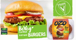 Ozo Burger by Planterra Foods, a Subsidiary of JBS Meat Processor Launches a Vegan Certified Range