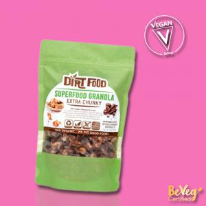 Superfood Chunky Granola Certified Vegan by BeVeg