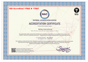 BeVeg is Accredited by the National Accreditation Center (NAC)